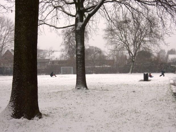 Winters tenue voor Sint-Niklaas