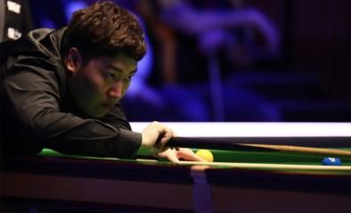 Debutant Yan Bingtao is eerste finalist op Masters snooker