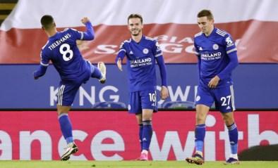 Youri Tielemans helpt Leicester City met twee assists aan zege tegen Southampton