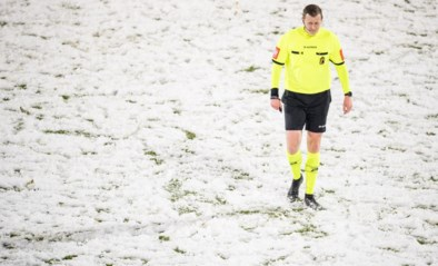 """Michiel Jonckheere na sneeuwpartij in Oostende: """"Er is van bovenaf beslist dat match moest doorgaan"""""""