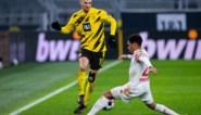 Thomas Meunier eist hoofdrol op bij Dortmund: eerste doelpunt en uitgelokte penalty, maar geen overwinning