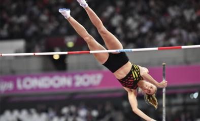 Fanny Smets stelt eigen Belgisch record polsstokspringen in zaal bij met elf centimeter