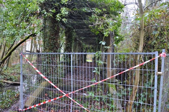 Park Verloren Bos wordt onder handen genomen: nieuwe vijver en restauratie pergola op komst