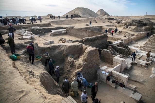 Archeologen leggen 3.000 jaar oude dodentempel bloot in Egypte