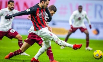 Twee spelers met positieve coronatest bij leider AC Milan