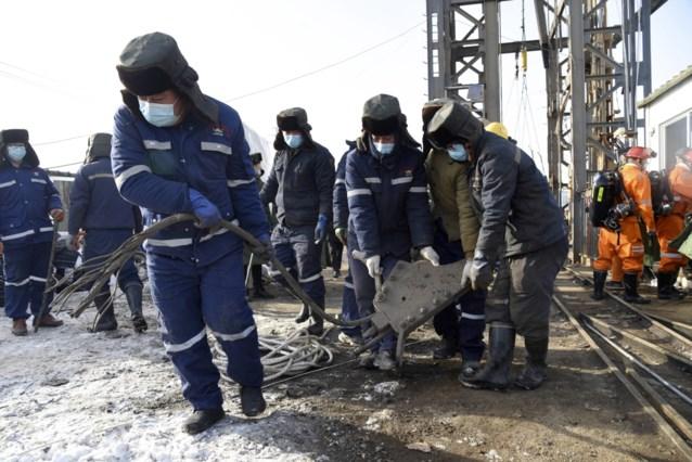 Na een week teken van leven van 22 geblokkeerde Chinese mijnwerkers