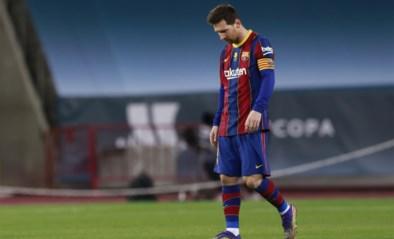 Messi pakt voor eerste keer in 753 matchen(!) bij Barça rode kaart na verloren Supercup-finale tegen Athletic