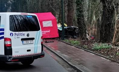 Auto met drie minderjarigen gaat uit de bocht en botst tegen boom: 16-jarige jongen overleeft klap niet