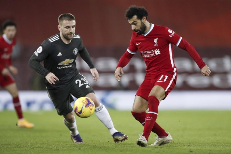 Clash tussen Liverpool en Manchester United baart een muis: geen doelpunten, geen winnaar