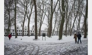 Genieten van de eerste (en voorlopig laatste) sneeuw