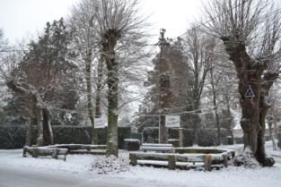 Idyllisch sneeuwbeeld in Vierlinden