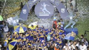 Boca Juniors is de beste in finale van Diego Maradona Cup