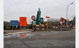 Watermolenstraat afgesloten tot eind maart