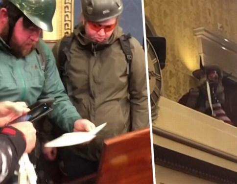 Oorlogscorrespondent volgt Trump-fans en maakt surreële beelden van bestorming van het Capitool