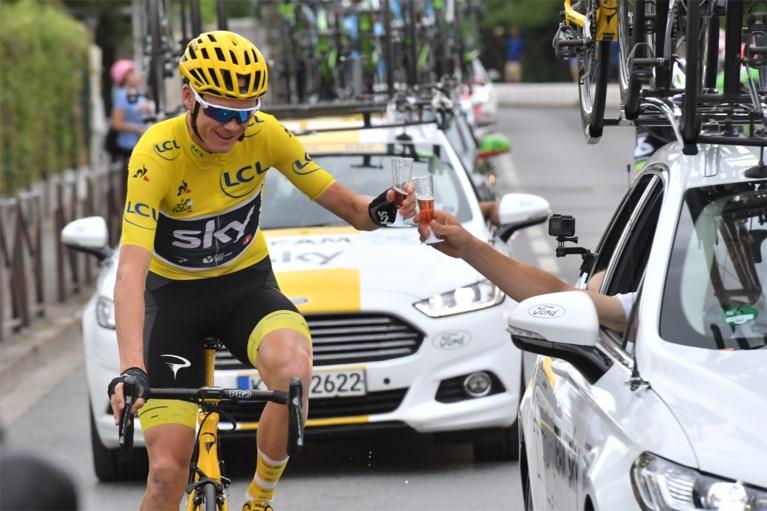 """Chris Froome gelooft nog in vijfde Tourzege: """"Leeftijd is iets dat in je hoofd zit en ik ben nog jong in wielerjaren"""""""