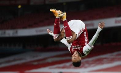 Van schlemiel tot goalgetter: Pierre-Emerick Aubameyang wist gigantische misser uit met twee doelpunten voor Arsenal