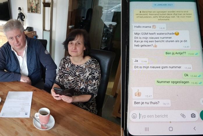 """""""Hallo mama, mijn gsm is kapot"""": koppel is na onschuldig ogend WhatsApp-berichtje bijna 3.000 euro kwijt"""
