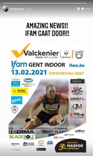 """Internationale atletiekmeeting in Gent kan doorgaan ondanks coronabeperkingen: """"Geweldig nieuws!"""""""