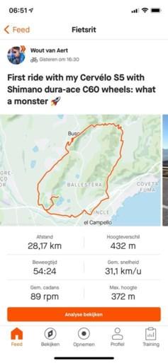 KOERSNIEUWS. Veldrijder wordt maître d'hôtel, Van Aert test voor het eerst zijn nieuw monster