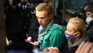 """Aleksej Navalny reageert op zijn arrestatie in Moskou: """"Dit is de totale illegaliteit"""""""