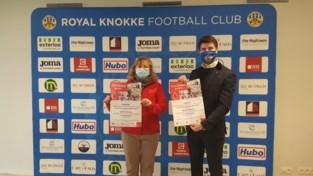 Bloed geven met zicht op voetbalveld: Rode Kruis en R. Knokke FC gaan samenwerken