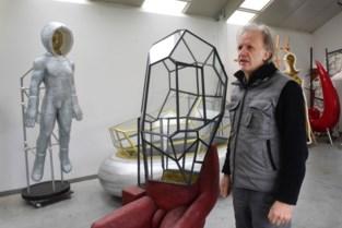 Luk Van Soom maakt kunst als wraak op corona