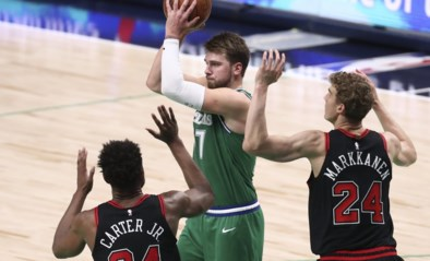 Dallas verliest in NBA van Chicago ondanks <I>triple-double</I> van Doncic
