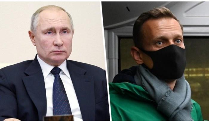 """Wereld woedend om aanhouding Navalny, maar Poetin is niet onder de indruk: """"Zoveel ruimte voor sancties tegen Rusland is er niet meer"""""""