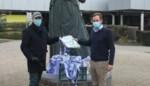 Ziekenhuispersoneel krijgt gerecycleerde tassen<BR />