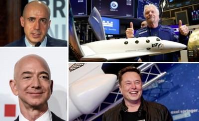 Miljardairs zijn ze al op aarde, maar nu mikken 'ruimtebaronnen' op de hemel