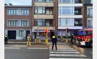 Veel rook door brand in lokaal van rijschool in Berchem