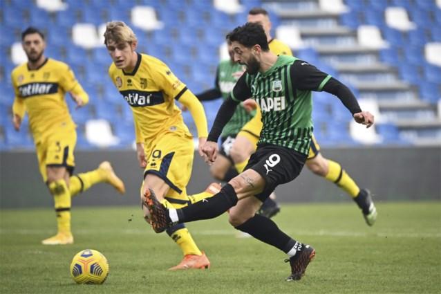 17-jarige Belg debuteert bij Parma in Serie A en zorgt meteen voor een primeur
