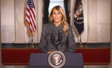 Melania Trump is de minst populaire first lady in decennia
