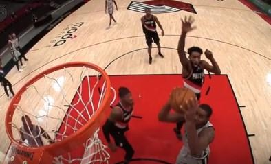 """Waar is die trampoline? NBA-ster pakt uit met waanzinnig blok: """"Hij zweefde door de lucht"""""""