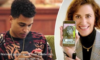 Aster Nzeyimana en Lize Feryn weten altijd van elkaar waar ze zitten via app: is dat wel gezond?