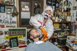 """Deze barbier is het beu: """"Genoeg corona, ik heropen mijn zaak en zie nog wel wat ik met de boetes doe"""""""