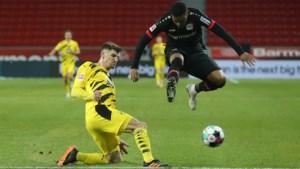 Thomas Meunier lijdt met Borussia Dortmund zure nederlaag bij Leverkusen: bekijk hier de doelpunten