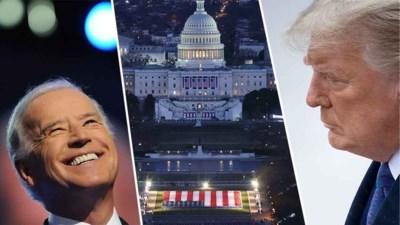 OVERZICHT. Zo zal inauguratie Joe Biden verlopen: geen groot feest in het Witte Huis, Trump vertrekt als het hem uitkomt