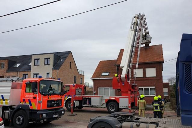 Schouwbrand veroorzaakt rookschade in Hulshout