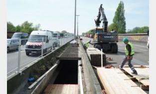 Bijkomende signalisatie en vroeger remmen op E17-viaduct Gentbrugge