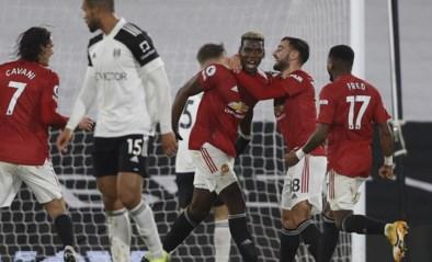 Manchester United wint bij het Fulham van Denis Odoi en is opnieuw leider in Engeland