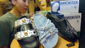 Sandalenmerk Birkenstock in de etalage voor 4 miljard euro
