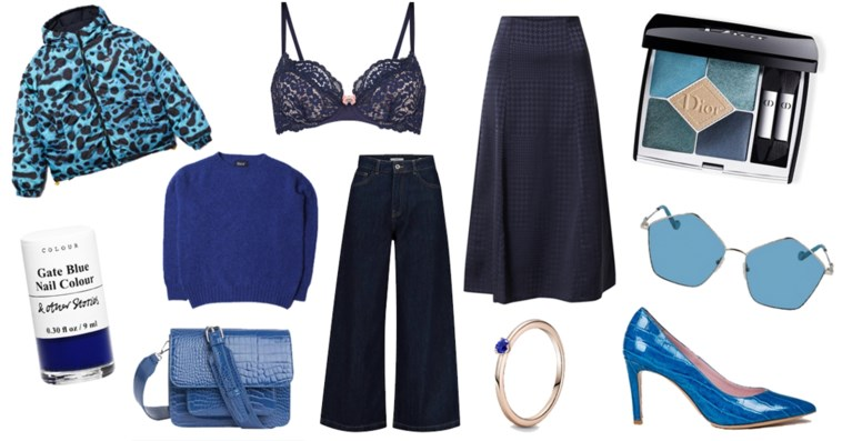 Vandaag is blauw: accenten voor in je outfit en je interieur