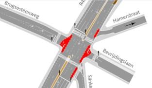 Fietsveiligheid in de Rooigemlaan wordt beter: bushaltes en kruispunt worden aangepakt