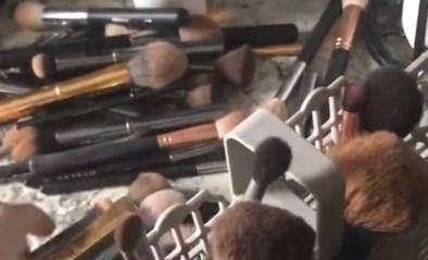 Man wil vrouw helpen door make-upborstels te wassen, maar had dat beter niet gedaan