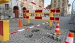 Grondverzakking op Jan Van Eyckplein wordt deze week nog hersteld
