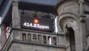 Klok toont vanaf nu hoe vervuild de Gentse stadslucht is