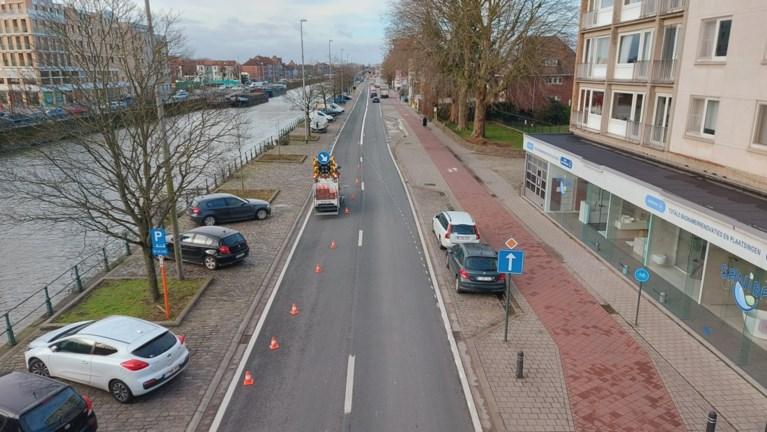 Bus en brandweer krijgen eigen rijvak op Nieuwevaart, maar dat zorgt meteen voor extra file