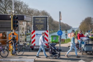Auwegemvaart en Vaartdijk zijn vanaf 1 februari definitief fietsstraten