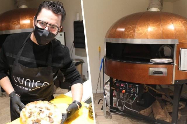 Carmelo (35) kwam op zijn zevende naar België en serveert nu luxepizza's in Latem